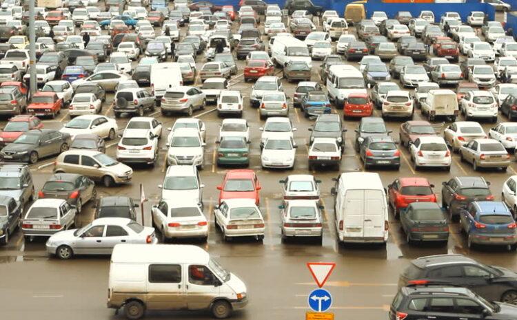 Sanciones a los conductores que infringen las normas de tráfico en centros comerciales