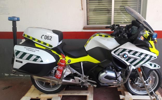 La Guardia Civil de Tráfico ya tiene las motos con radar de velocidad incorporado