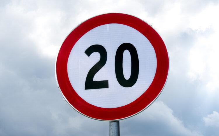 La DGT quiere bajar a 20 km/h la velocidad máxima en algunas vías urbanas