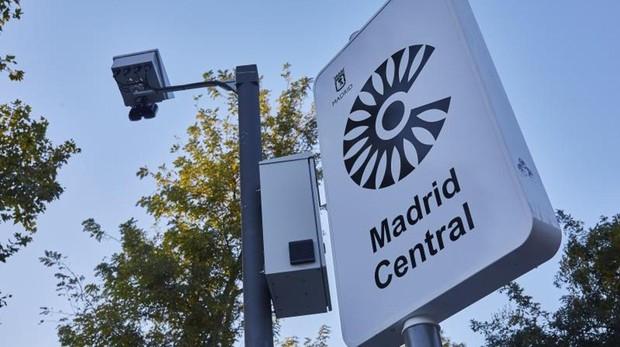 Las 115 cámaras que te multarán en Madrid Central