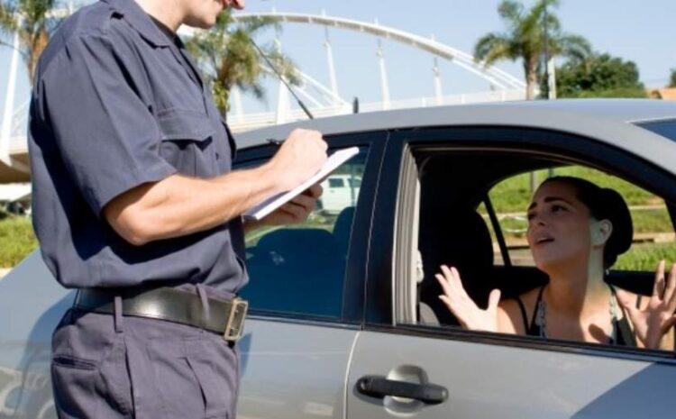 ¿Sabes cómo recurrir una multa de tráfico?