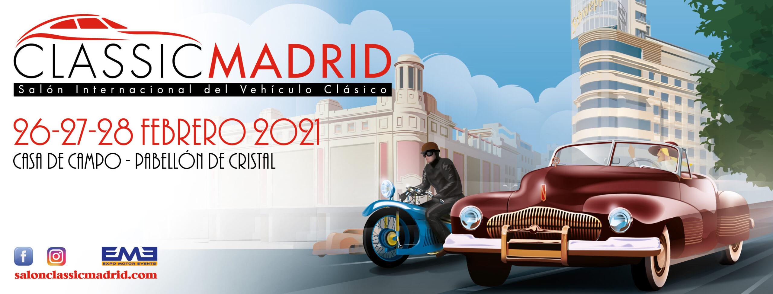 Classic Madrid – Salón Internacional del vehículo clásico